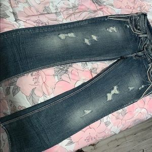 Silver Boot Jeans